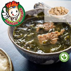 [HEAT & SERVE] Traditional Clam Seaweed Soup 500g (For 1 Pax)