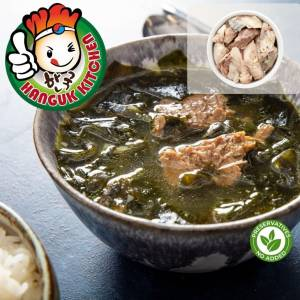 [HEAT & SERVE] Traditional Chicken Seaweed Soup 500g (For 1 Pax)