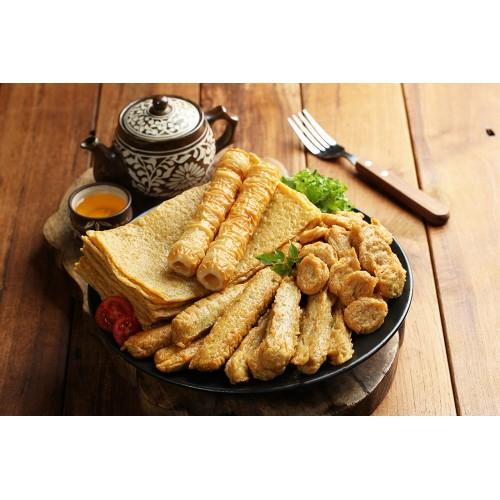 Busan Eomuk Assorted Fish Cake Pack 1kg