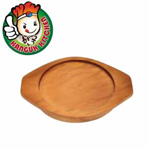 Korean Earthernware Clay Pot Wooden Tray