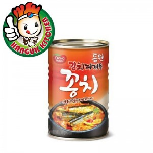 Imported Canned Mackerel Pike for Kimchi Stew 400g