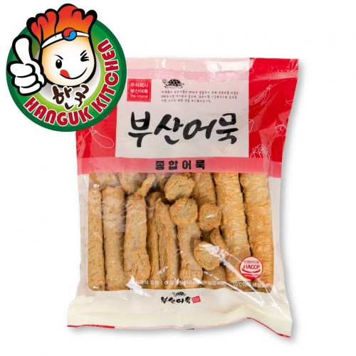 Busan Eomuk Assorted Fish Cake Pack 1kg