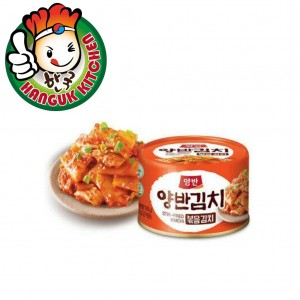 Convenient Korean Stir-fried Canned Kimchi 160g Dongwon