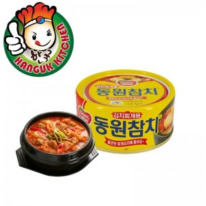 Convenient Korean Spicy Tuna for Kimchi Stew 150g Dongwon