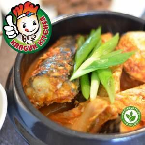 [HEAT & SERVE] Traditional Kimchi Mackerel Stew 500g Hanguk Kitchen Korean Food Mart