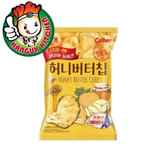 Popular Honey Butter Chips Korean Snack 60g