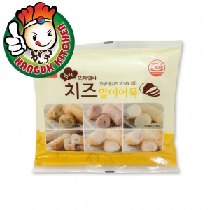 Busan Eomuk Mozzarella Cheese Flavor Fish Cake Roll 200g