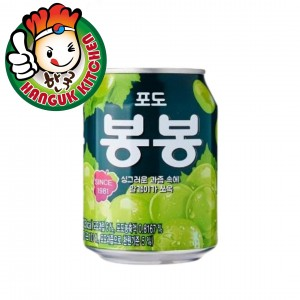 Haitai Grape Juice Drink Popular Korean Beverage 238ml