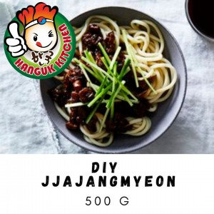 DIY Jjajangmyeon (Korean Black Bean Paste Noodles) 400g