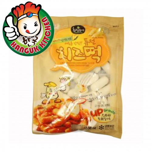 Cheese Flavor Tteokbokki Korean Rice Cake 1kg