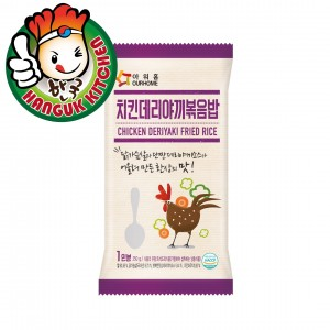 Covenient Korean Fried Rice with Chicken Terriyaki 250g
