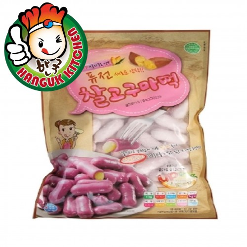 Sweet Potato Flavor Tteokbokki Korean Rice Cake 1kg