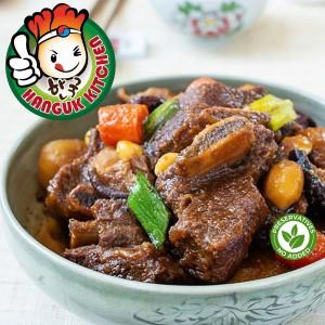 [HEAT & SERVE] Korean Braised Kalbi Jjim (Braised Beef Short Rib Stew) 550g