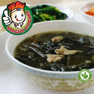[HEAT & SERVE] Traditional Miyeok Guk (Korean Seaweed Soup) 400g
