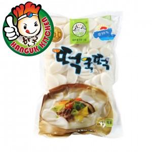 Imported Sliced Tteokbokki Korean Sliced Rice Cake 1kg