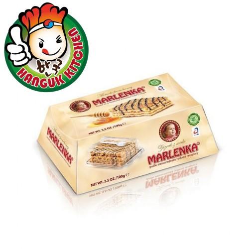 Marlenka Honey Cake Walnut 100g  말렌카 허니 호두케이크