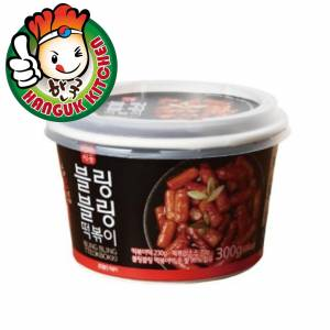 Bling Bling Tteokbokki (Spicy) Korean Rice Cake in a Cup (For 1 Pax) 300g