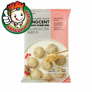 Imported Korean Innocent Vegan Dumpling -Spicy Flavour 180g