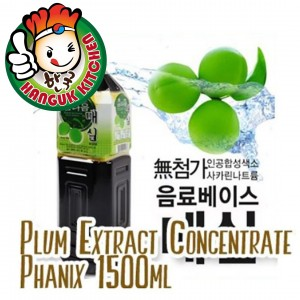 Korean Plum Extract Concentrate Phanix 1.5L