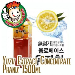 Korean Yuzu Extract Concentrate Phanix 1.5L