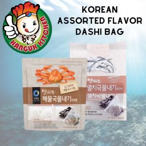 Korean Assorted Flavor Dashi Bag 72g - 80g