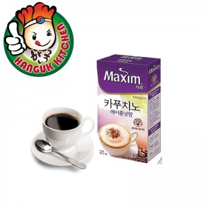 Maxim Cappuccino Hazelnut Coffee Mix 13gm (10 Sachet Sticks)