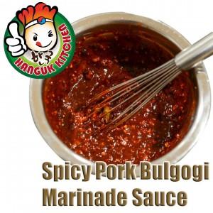 Korean Spicy Pork Bulgogi Marinade Sauce 700g