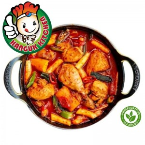 [HEAT & SERVE] Dak Bokkeum Tang (Korean Spicy Chicken Stew) 1.6kg