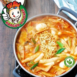 [HEAT & SERVE] Tteokbokki Stew (Korean Rice Cake Stew Set) 1.1kg