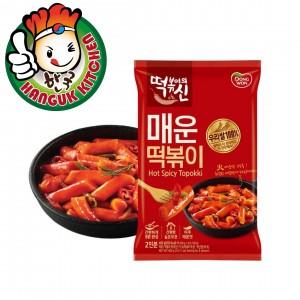 Convenient Stir-Fried Tteokbokki Hot & Spicy Flavor 400g
