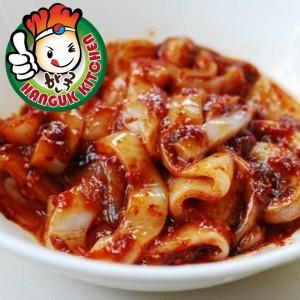 Seasoned Wild Caught Baby Squid Korean Banchan Side Dish 400g
